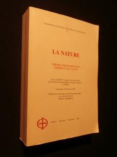 La nature, thèmes philosophiques, thèmes d'actualités