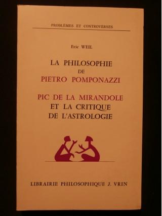 La philosophie de Pietro Pomponazzi, Pic de la Mirandole et la critique de l'astrologie
