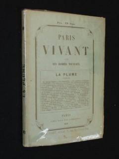 Paris vivant, la plume
