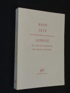 Leibniz et l'école moderne du droit naturel