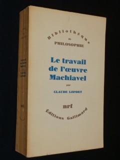Le travail de l'oeuvre de Machiavel