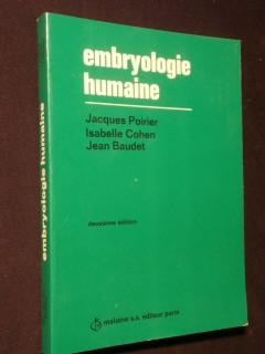 Embryologie humaine