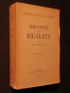 Réalité et identité