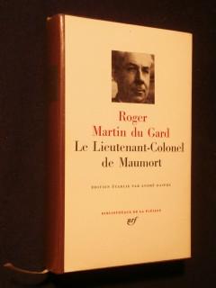 Le lieutenant colonel de Maumort